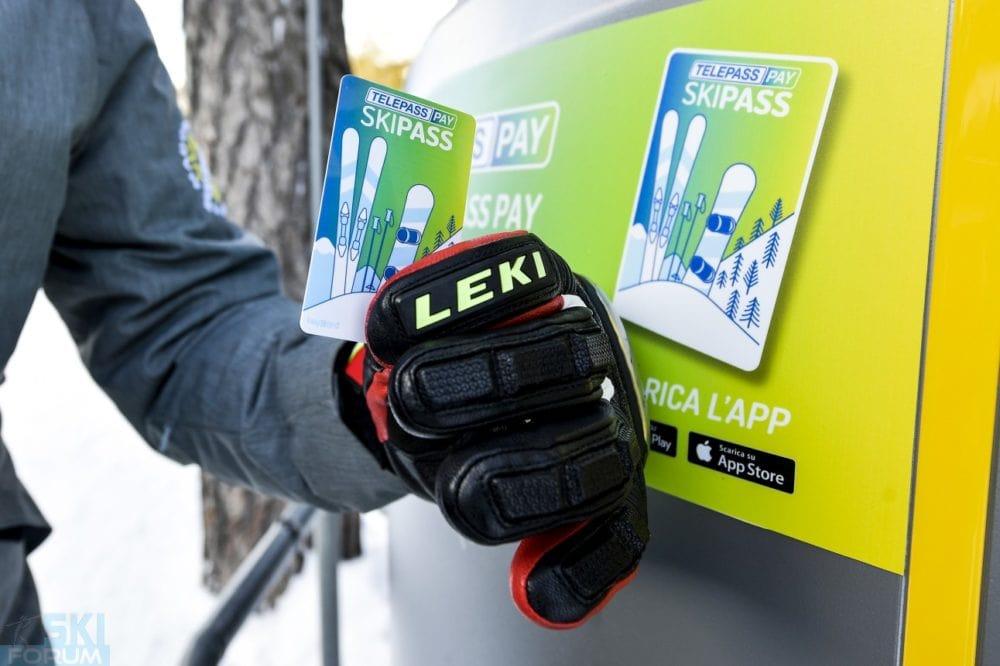 Telepay pay Skipass - skiarea Livigno
