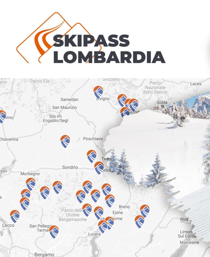 skipass per sciare in tutta la lombardia