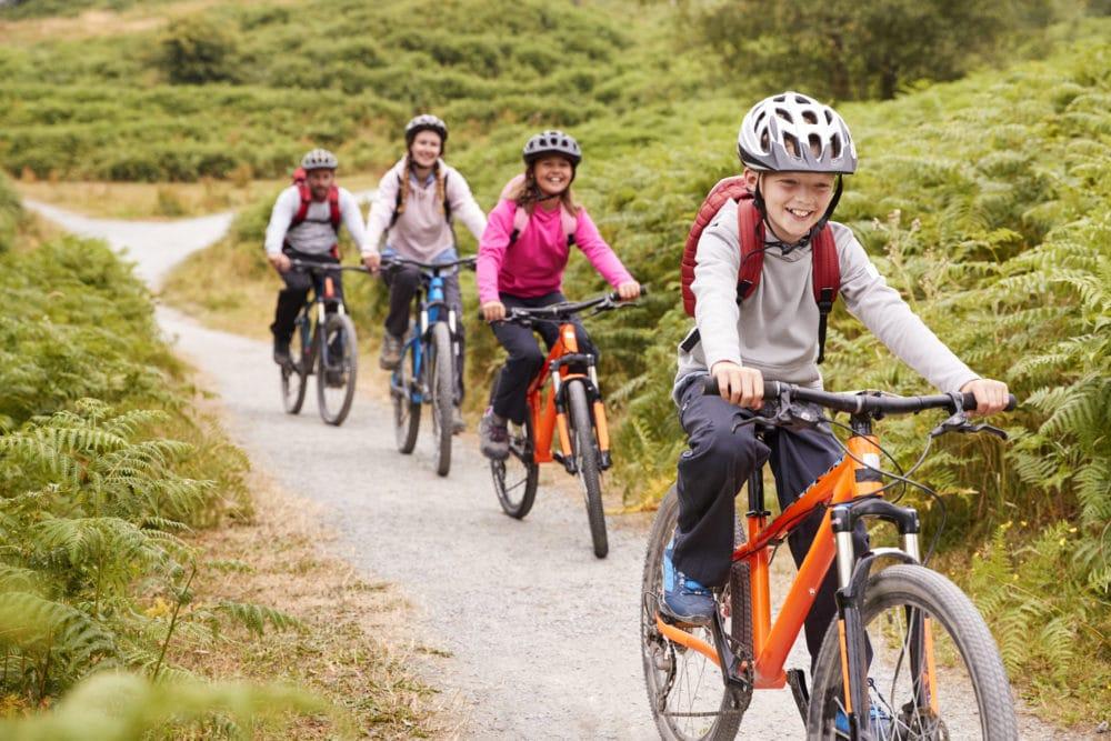 sentieri per mtb e bike ideali per bambini a livigno