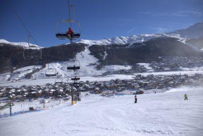 seggiovia e impianti di risalita della skiarea di Livigno