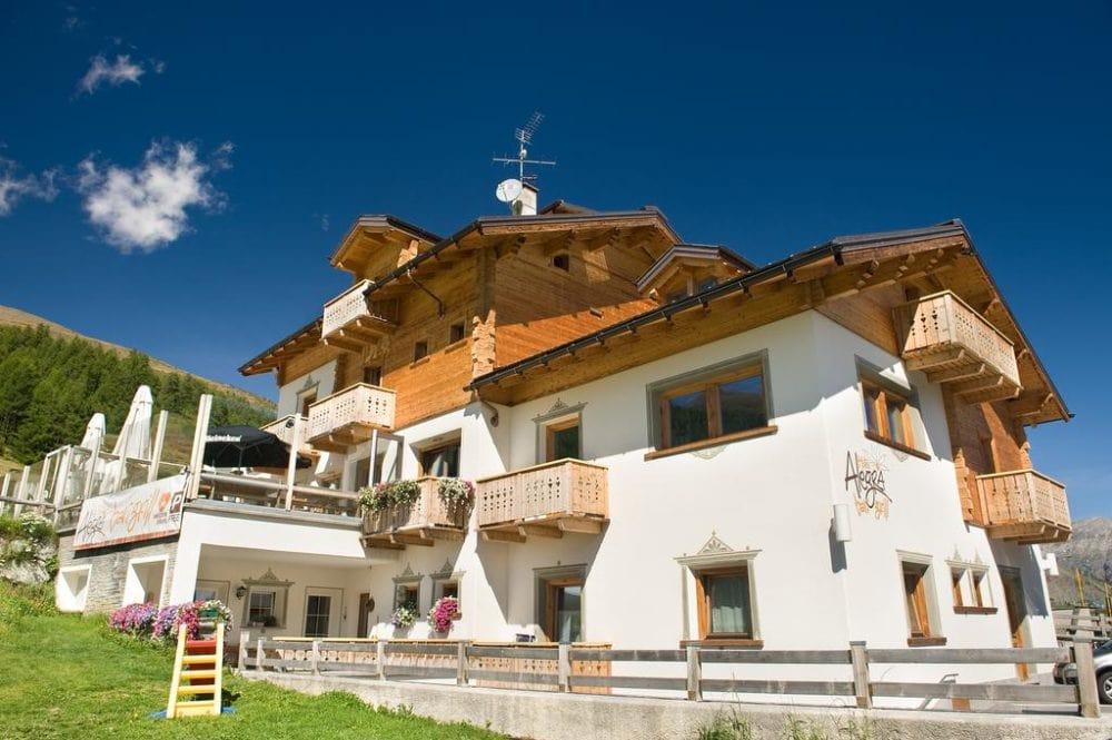 Hotel Alegra per le vacanze a Livigno sulle Alpi