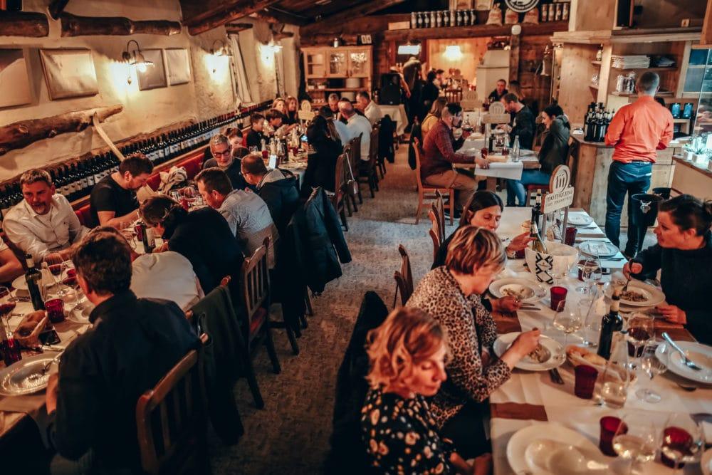 ristoranti e rifugi in alta quota e in valle a livigno