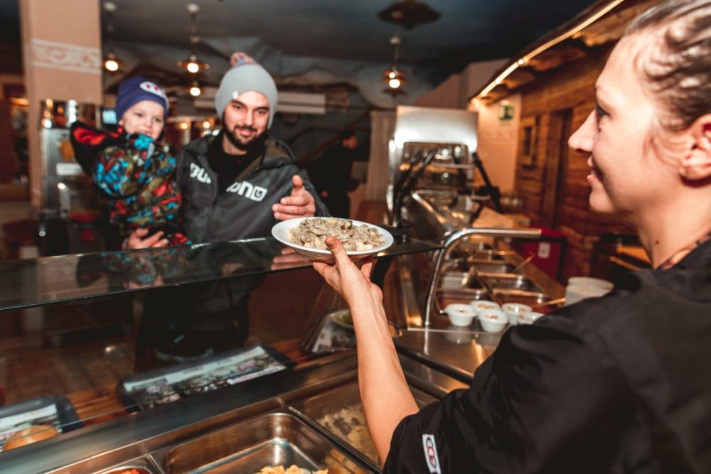 Pranzo in quota per famiglie a livigno