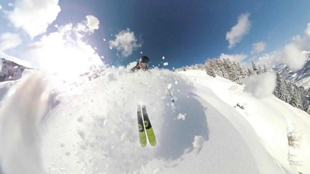 freeride a Livigno, divertimento per gli sciatori sulle Alpi