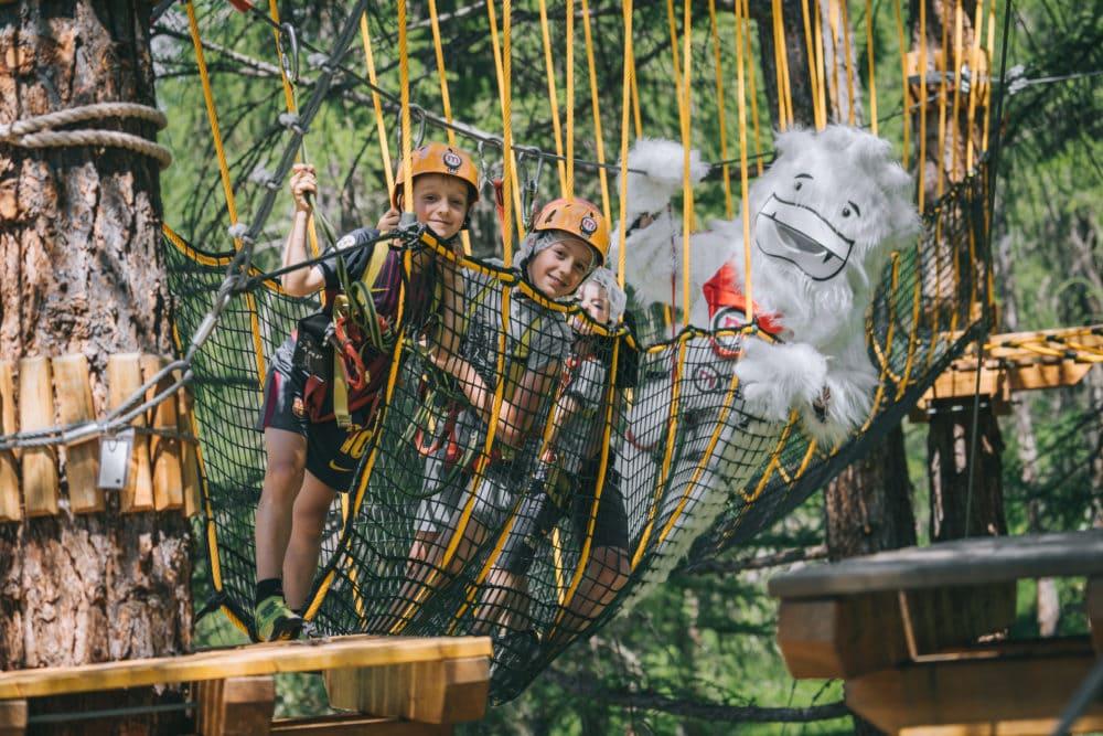 Larix Park, parco avventura fra i boschi di Livigno