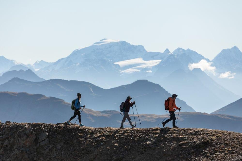 hiking e trekking a livigno