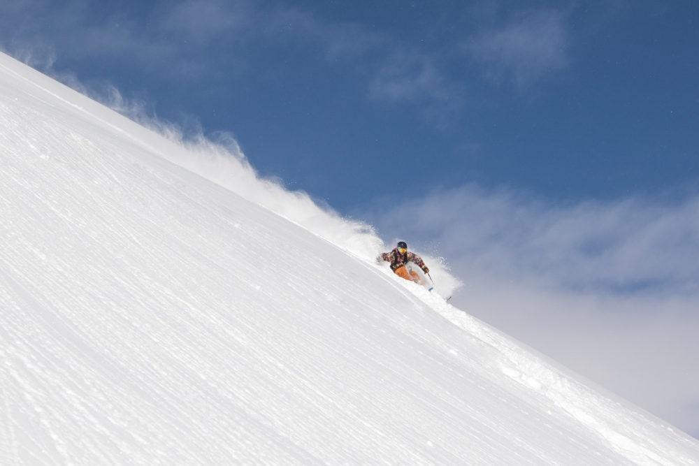 Freeriding nella ski area di Livigno