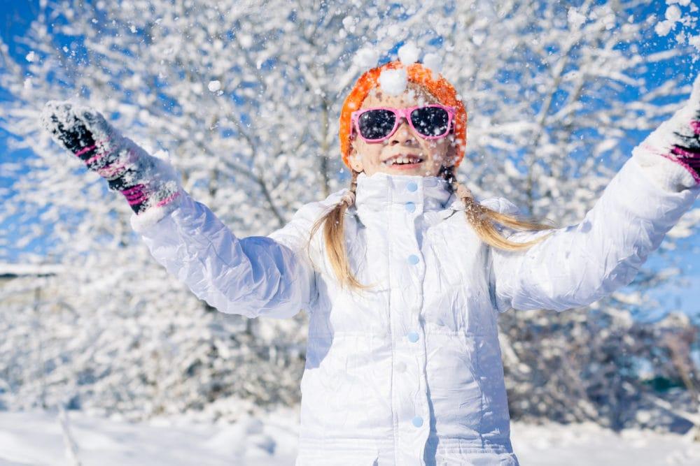 giochi sulla neve per i bambini a livigno