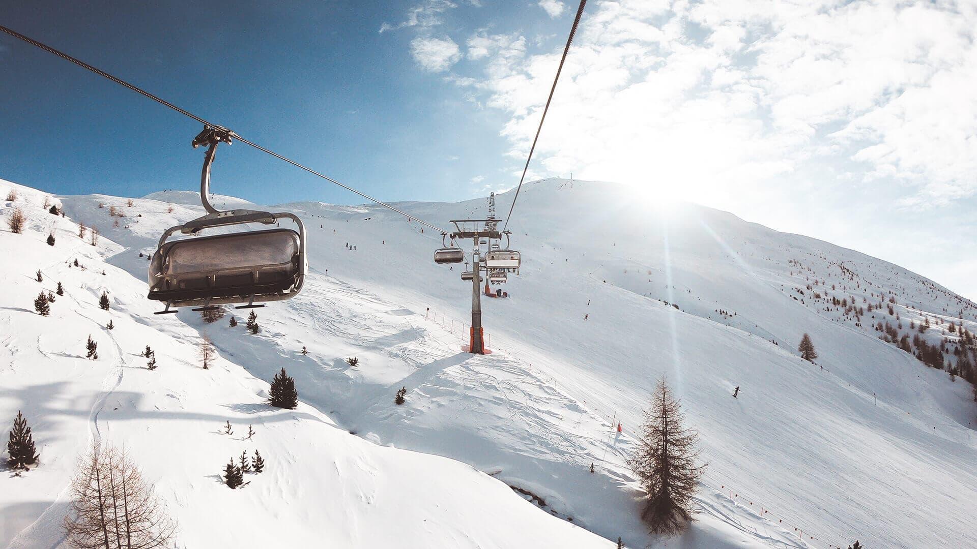 Impianti di risalita e piste della skiare a Livigno