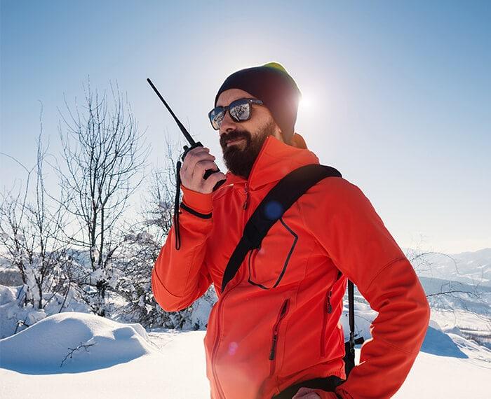 soccorso e sos sulle piste della skiarea di livigno