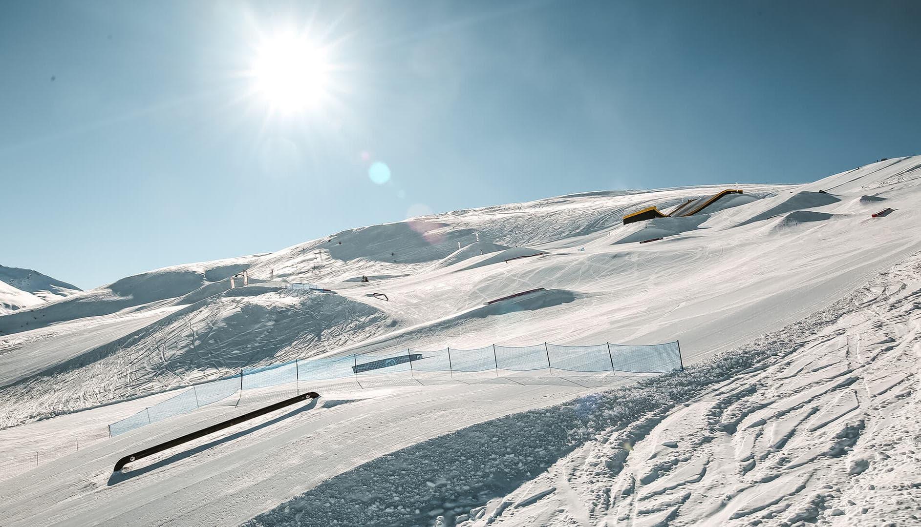 snowpark a livigno, tra i migliori in Europa