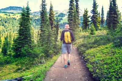 Hike ed escurisioni in montagna, sulle Alpi