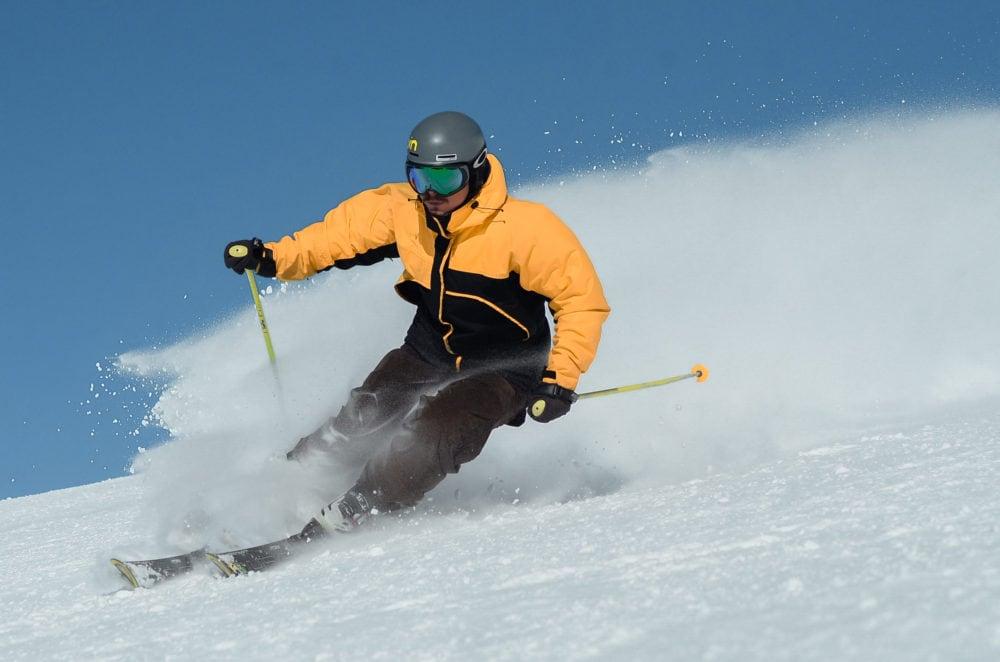 discese sugli sci a Livigno