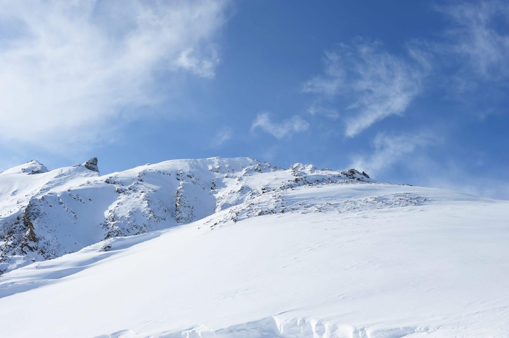 Neve fresca sulle Alpi