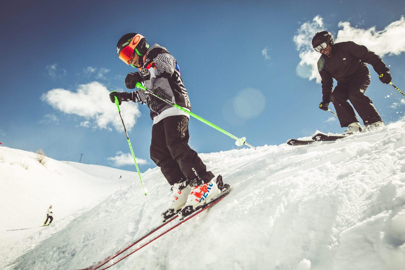 Passioni estreme sugli sci, il natural pipe a livigno