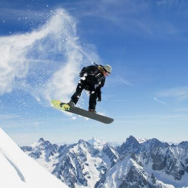 discese funamboliche a Livigno sullo snowboard
