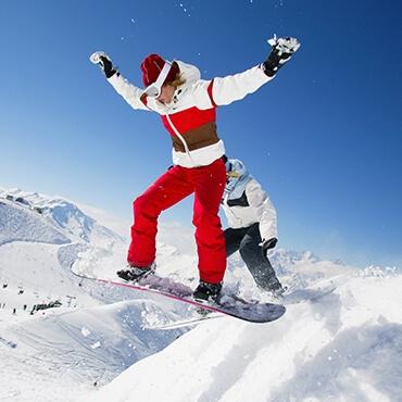 Allenamenti sullo snowboard a Livigno per le olimpiadi 2026