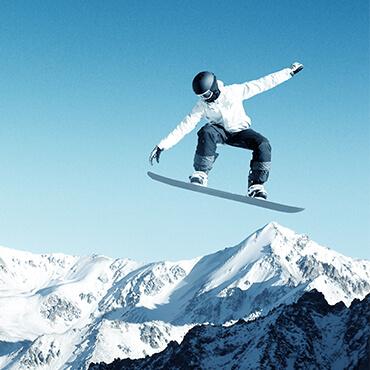 evoluzioni sullo snowboard a Livigno