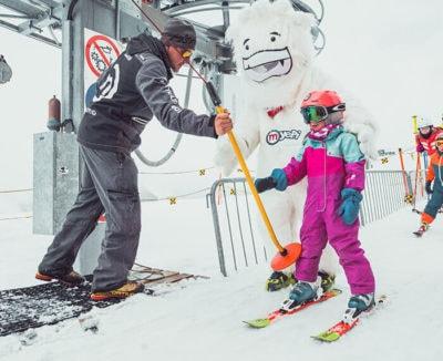 Sciovia Easylift ideale per bambini a Livigno