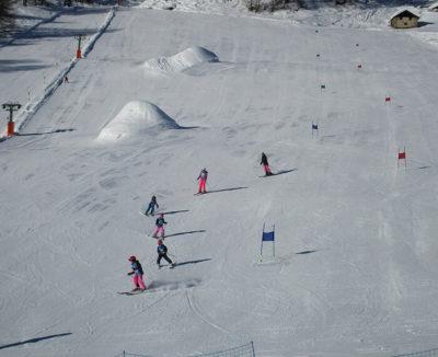 Sciovia Palipert nella skiarea di Livigno