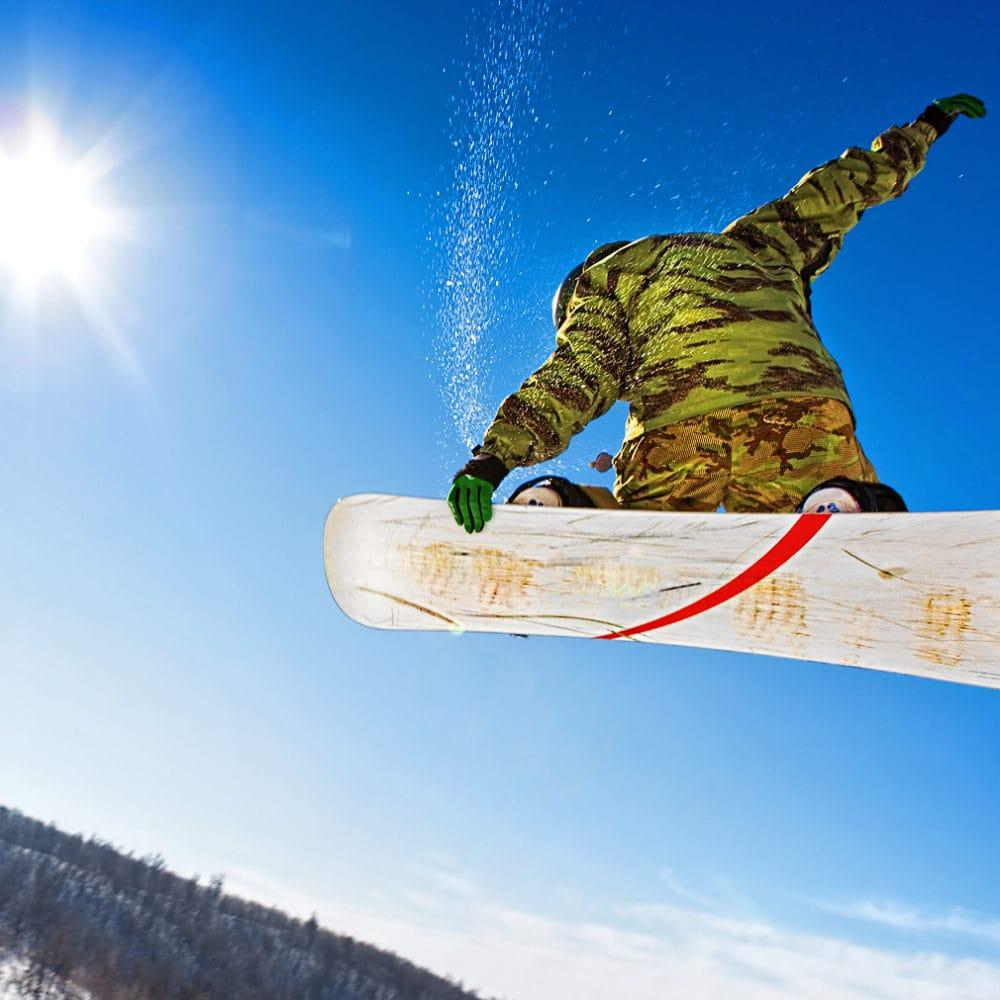 evoluzione sullo snowboard nella skiarea di livigno
