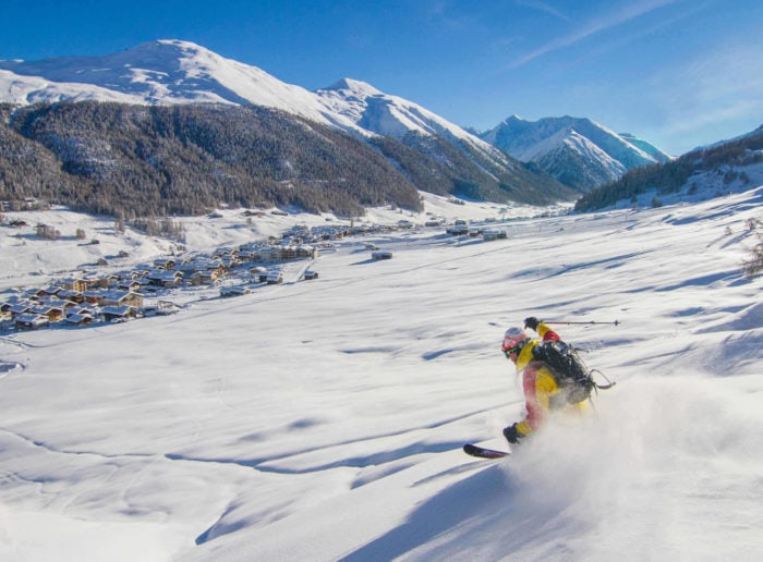 Ski season opening in Livigno 2020/2021