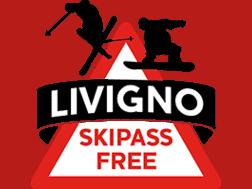 logo promozione Skipass Free Livigno
